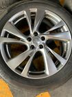 Infiniti QX60 Hyper Silver OEM 20 Wheels And TiresSensors And Center Caps