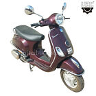 Vespa LX 125 4 Stroke 3 Valve Scooter Rosso Dragon Color 4600 Km 12 Volt Used