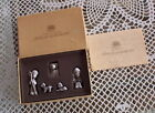 RARE IN BOX PRECIOUS MOMENTS MINI PEWTER NATIVITY COME LET US ADORE HIM 1981