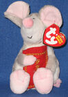 TY YEAR of the RAT BEANIE BABY - MINT with MINT TAG - ASIA EXCLUSIVE