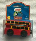 Mint Learning Curve Thomas & Friends Train Wooden Railway - Bulgy Bus