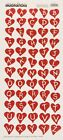 VALENTINES DAY RED HEART ALPHABET LETTERS CREATIVE IMAGINATIONS STICKERS LOVE