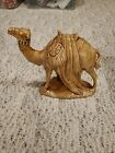 Vintage large Holland mold Brown camel excellent condition Christmas nativity 2