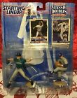 Starting Lineup Classic Doubles Randy Johnson & Nolan Ryan Action Figures MOC