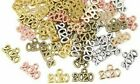 10 Number Charms 2020Pendants Antique Silver Rose Gold Bronze Graduation Year