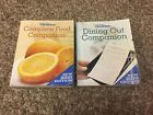 2 Weight Watchers 2010 Momentum Program COMPLETE FOOD DINING OUT COMPANION Books