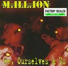 Million M.Ill.Ion – We, Ourselves & Us CD Remastered -  SWEDISH Rock NEW