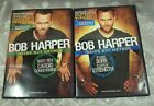 DVD Lot 2 BOB HARPER Inside Out Method PURE BURN SUPER STRENGTH Body Rev Cardio
