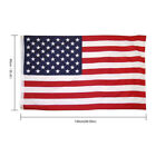 3x5 Ft American Flag Embroidered Stars Sewn Stripes Grommets Polyester US US