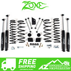 Zone Offroad 3 Suspension Lift Kit For 18 20 Jeep Wrangler Unlimited JL J31N