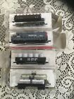 Southern Pacific Train Set Locomotive Tank Log Canister Car N Scale Non Powered