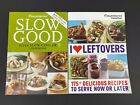 Set Of 2 Weight Watcher Cookbooks Slow Good  I Love Leftovers Paperback