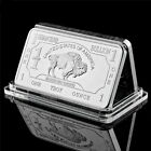 Bullion Germany Silver Fine Mint 1 Troy Ounce Buffalo European Metal Bar Collect