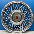 ONE 1987 to Early 1990 Oldsmobile Ciera  4106A 14 Wire Wheel Cover GM 10091786