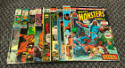 Where Monsters Dwell Comic Lot Various Issues 4 29