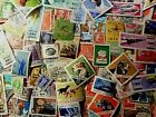 Lot of 201 WORLDWIDE STAMPS  USED UNHINGED LHMLH MNH