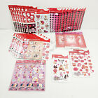 Wholesale Lot Various American Greetings Disney Stickers Valentines Day Cards