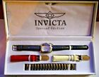 Invicta Special Edition Model 4230 100m water resist 3 extra bands NIB watch