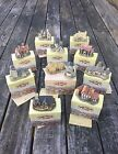 David Winter Cottages - Heart Of England Series - Set Of Eleven (11) - Preowned