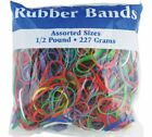 BAZIC Multicolor Rubber Bands Assorted Large Medium Small Sizes