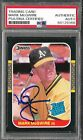 MARK McGWIRE 1987 Donruss #46 Rated Rookie PSA DNA certified autograph rookie RC