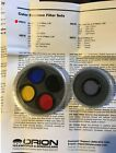 Orion 5 piece Planetary Color and Skyglow Telescope filter set 125 50 off