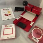 Sizzix Original Red Personal Die Cutter Press Machine 38 0605 System Converter
