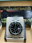 Rolex GMT Master 16700 Black Dial Stainless Steel Watch Box Booklet