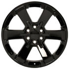 Chevy Midnight Edition 22 Gloss Black Wheel Silverado Rims Rally 5662 CK162 rep