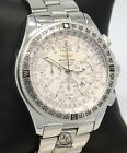 BREITLING Professional B-2 A42362 Chronograph Silver Dial Date 44mm No Reserve