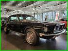 1968 Ford Mustang GT FACTORY A/C 1968 FORD MUSTANG GT BIG BLOCK With A/C