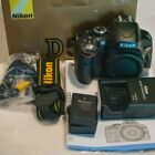 NIKON D5100 CAMERA BODY ONLY 18000 ACTUATIONS EXTRA BATTERY