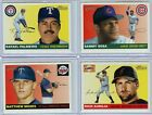 2004 TOPPS HERITAGE SHORT PRINT BASE SET LOT OF 47 SOSA WALKER BAGWELL