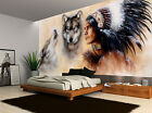 Native American Wolves Vintage Wall Mural Photo Wallpaper GIANT WALL DECOR