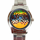 LIMITED EDITION abel Deyoung Brook Trout Fly Fishing Sport Metal Watch