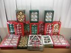 HUGE Lot of Over 200++ Vintage Christmas Tree Ornaments Glass Shiny Brite +More