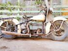 1946 HARLEY ORIGINAL KNUCKLEHEAD ROLLING CHASSIS FOR PARTS OR RESTORATION BIKE