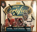 2019 FOTL PANINI Certified Football Hobby Box First Off The Line Exclusive