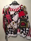 TOMMY HILFIGER jeans flag Spell Out Rare Size S VTG 90s Style Womens