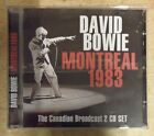David Bowie ‎– Montreal 1983 (The Canadian Broadcast) 2xCD