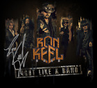 Ron Keel Band FIGHT LIKE A BAND 2019 CD - Brand New, Signed By The Band