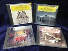 CLASSICAL CHORUS & POMP 4 CD LOT: Orpheus Chamber Overtures Boys Chorus Chamber