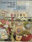 ART TO HEART for SPRING 2002 Nancy Halverson Sewing Quilting Project Book