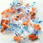 Lot Orange Foam Disposable Ear Plugs 33 Db Noise Reduction Sleep Travel Shooting