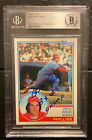 1983 Topps # 100 Pete Rose Signed. Phillies auto. Autograph Card BGS NM-MT+