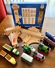 Thomas & Friends Wooden Track and Trains Lot - Including Sure FIt + Fig 8 Packs