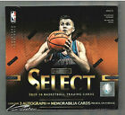 2015 16 PANINI SELECT BASKETBALL SEALED HOBBY BOX 12 PACKS 3 AUTO OR RELIC CARDS