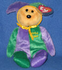 TY APRIL FOOL the BEAR BEANIE BABY - TY STORE EXCL - MINT TAG-NEAR MINT TUSH TAG