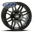 ITP SS316 Wheel 12x7 4/115 Matte Black 5+2 Arctic Cat 550 H1 EFI Le (2009-2010)