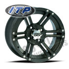 ITP SS212 Wheel 12x7 4/115 Matte Black 5+2 Arctic Cat 550 H1 EFI Le (2009-2010)